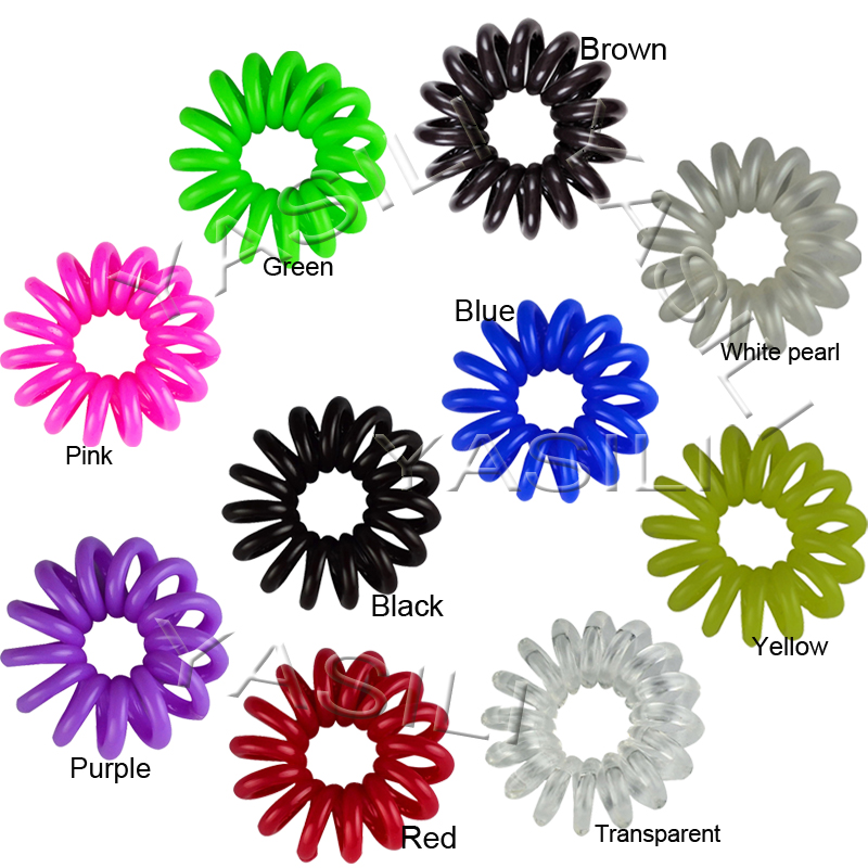 2.5CM Color Series Original Traceless Hair Ring Wholesale