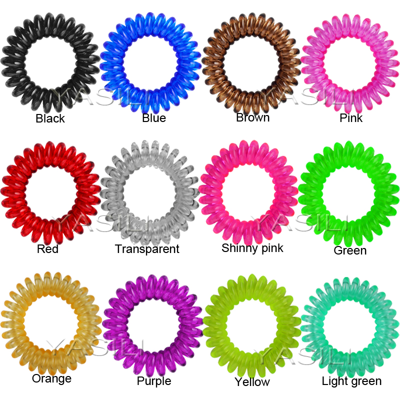4CM Color Series Original Traceless Hair Ring Gum Wholesale