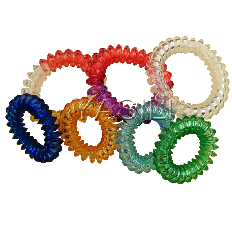 4A2-4CM Angular shape Color Series Original Traceless Hair Ring Gum Wholesale