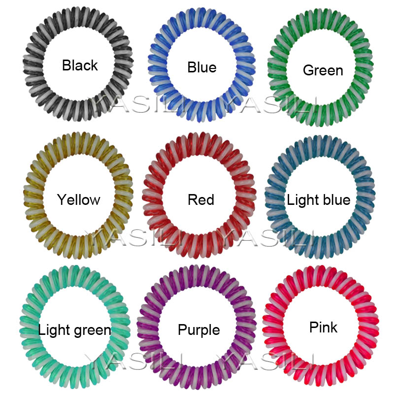 5CM Twister 2C Color Series Original Traceless Hair Ring Wholesale