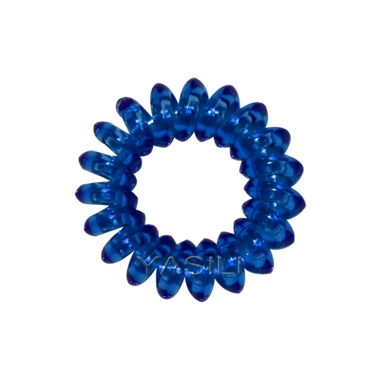 3A2-3.7CM Angular shape Color Series Original Traceless Hair Ring Gum Wholesale