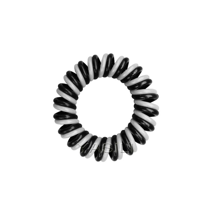 3T1-3.5CM  Twister 2C Color Series Original Traceless Hair Ring Wholesale