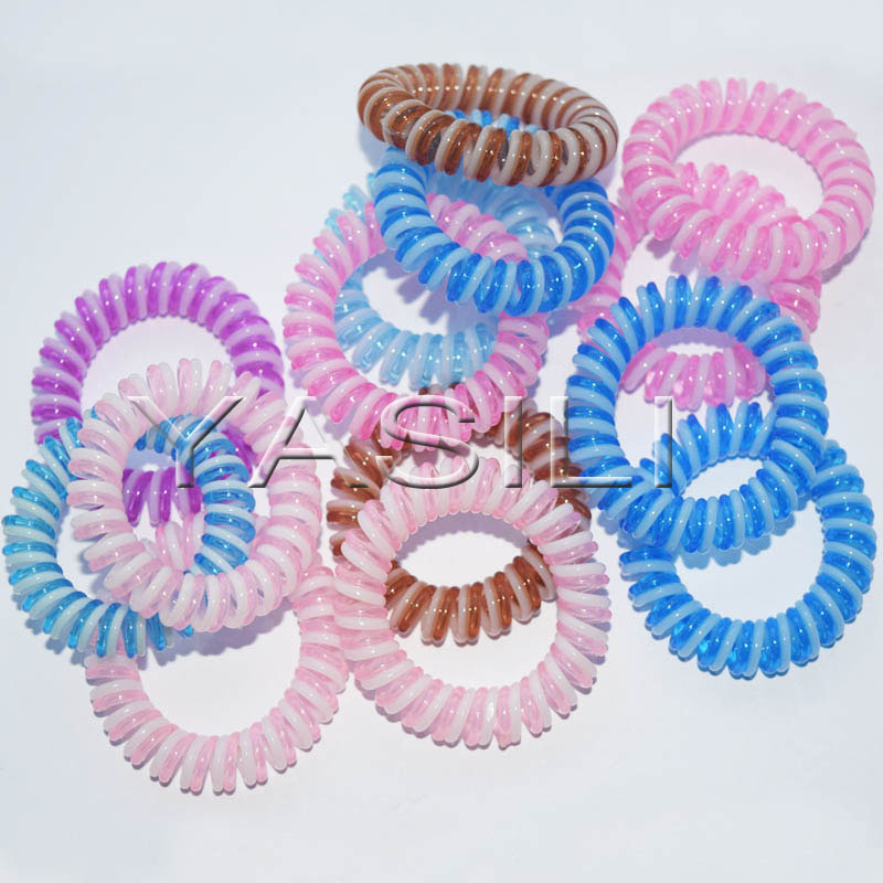 3T8-3.5CM Twister 2C Color Series Original Traceless Hair Ring Wholesale