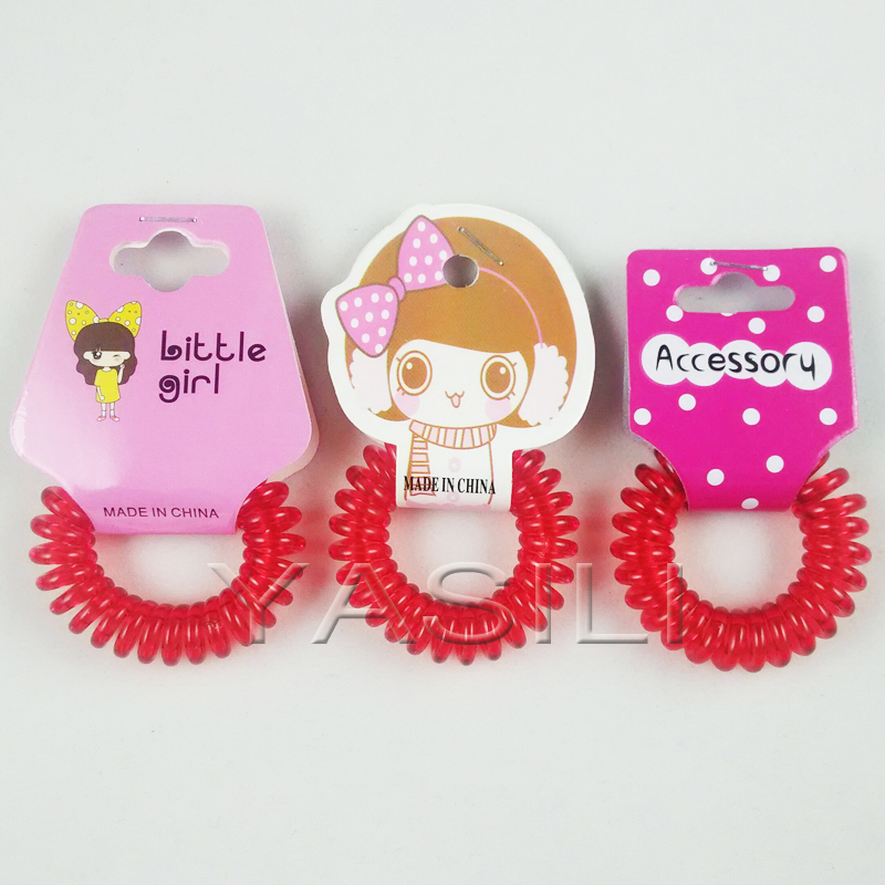 Q410-4.0CM Original Traceless Hair Ring Gum Wholesale