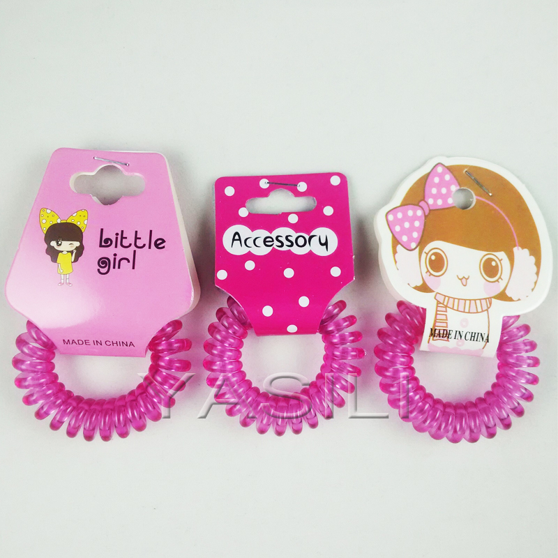 Q407-4.0CM Original Traceless Hair Ring Gum Wholesale